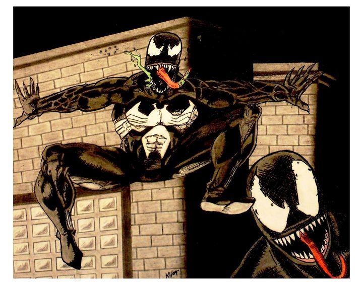 The Dark Symbiote - Kevin Hamilton Art