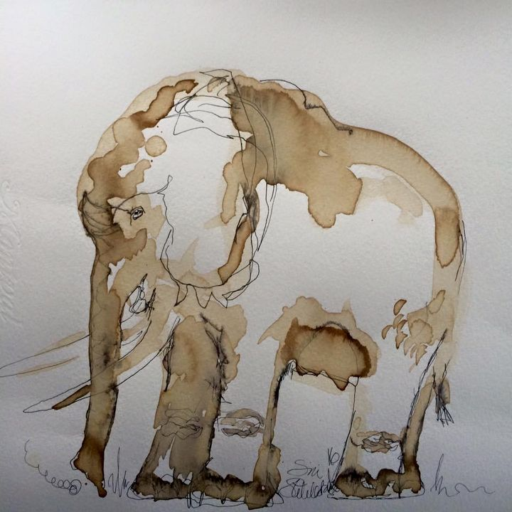 coffee elephant - SÏRÏ