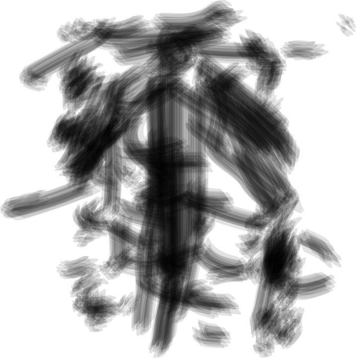 man in the middle of night - Agil Sadid