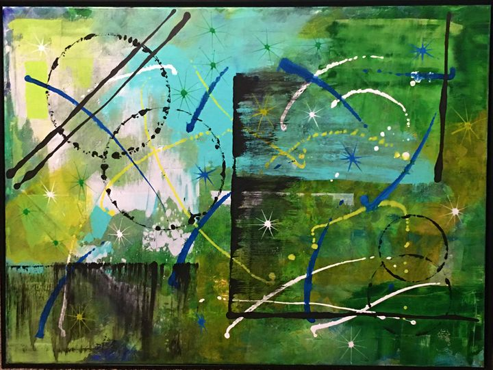 Greenspace - Art Created By MJ Bowyer