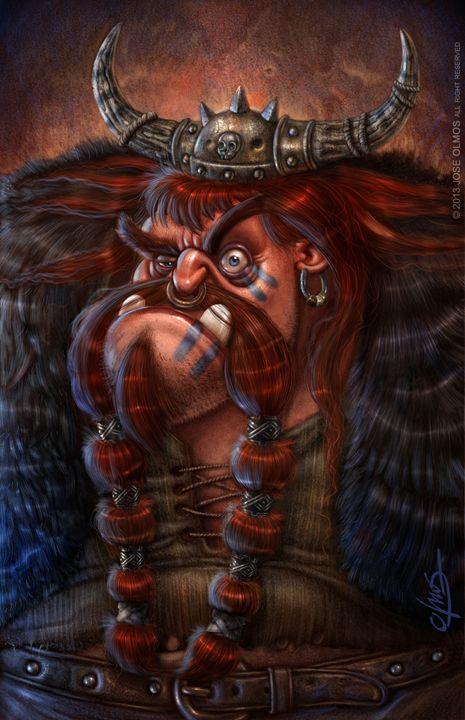 Viking - OLMOS ARTWORK