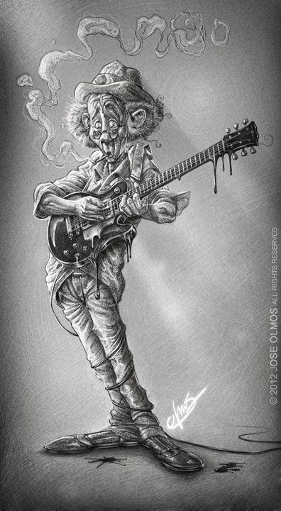 """Melted blues"" - OLMOS ARTWORK"