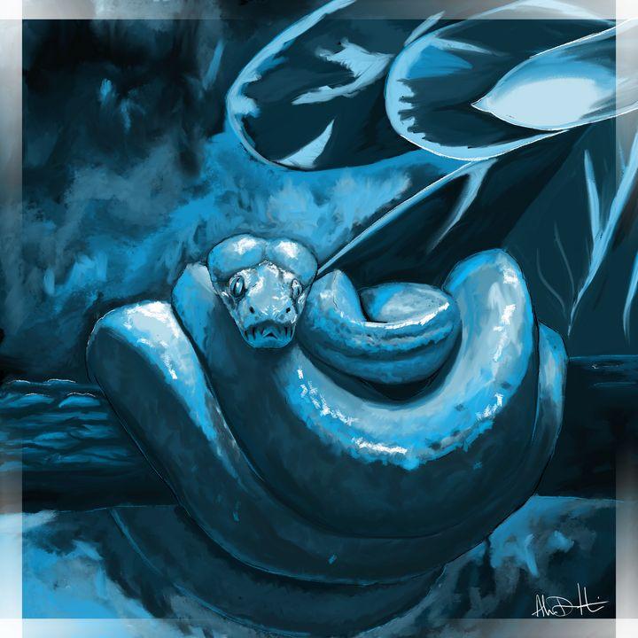 The Blue Boa's Perch - Inspirational Wonders of Nature, by ArceeTheVixen