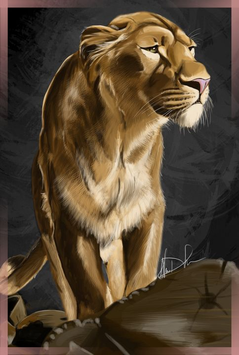 The Lioness of Hope - Inspirational Wonders of Nature, by ArceeTheVixen