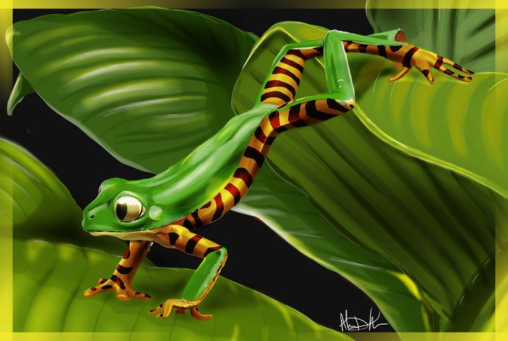 The Leaps & Bounds of a Frog - Inspirational Wonders of Nature, by ArceeTheVixen
