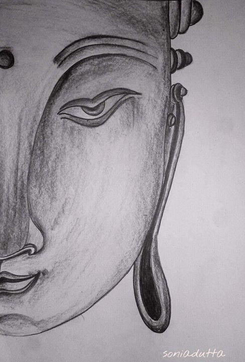 Buddha portrait - Passionate painter