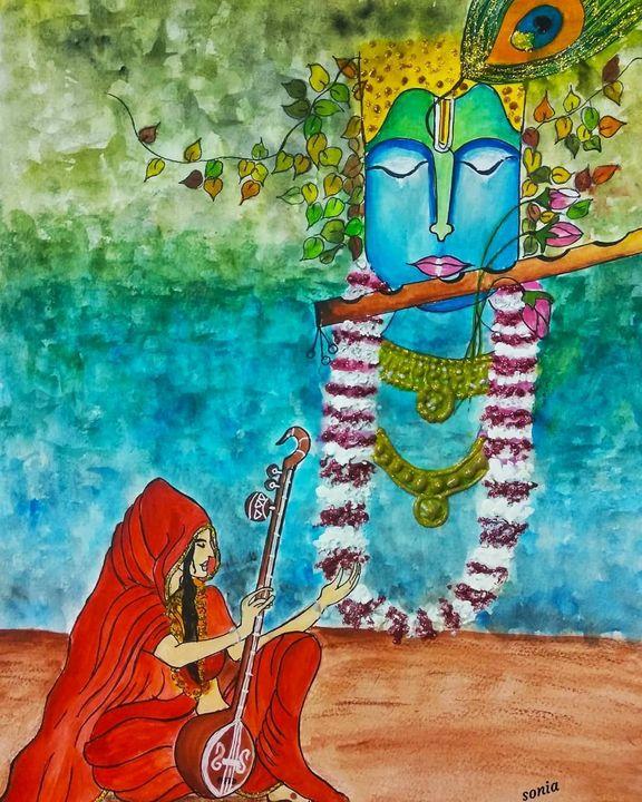 Spiritual- Meera bai - Passionate painter
