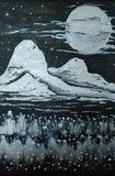 Original hand made acrylic landscape