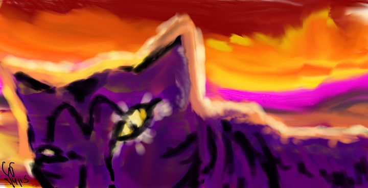 Desert Purple - Feline's Mind 😺