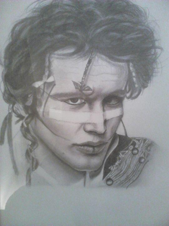 Adam Ant - debz drawings