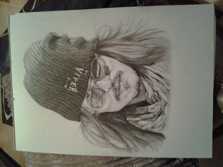 johnny depp viper room - debz drawings