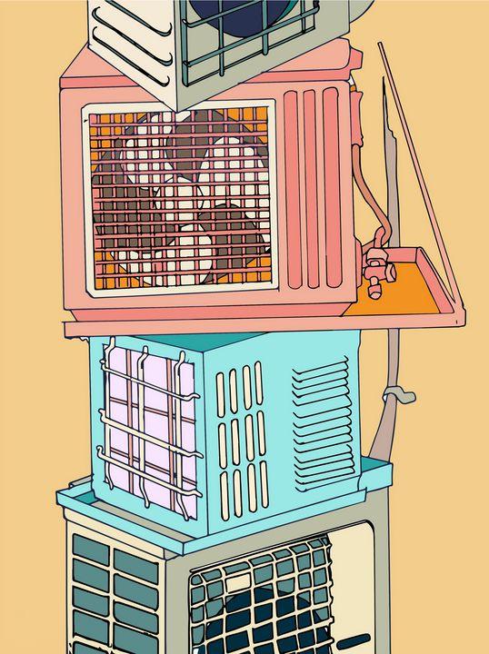 Air conditioning units - Chris Reinhardt
