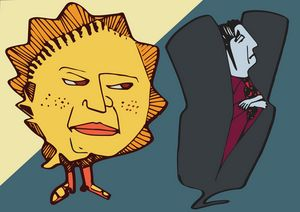 sun and vampire