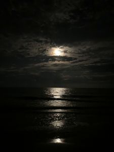 The Moon Guiding the Sea