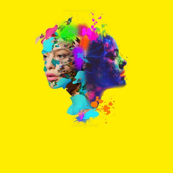 Abstract faces - Wambui.pixels