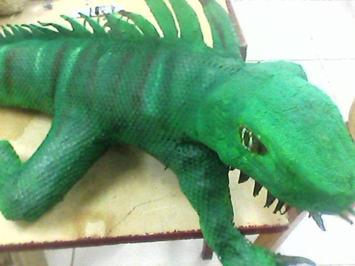 The Iguana - Jonathan Crevelle
