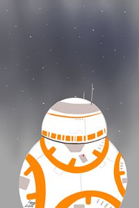 Underneath the war of stars BB-8