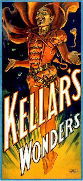 Kellar's Wonders Print Restore - LukeAhearn