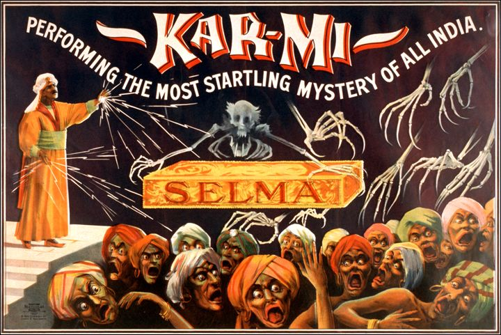 Karmi Selma Magician - LukeAhearn
