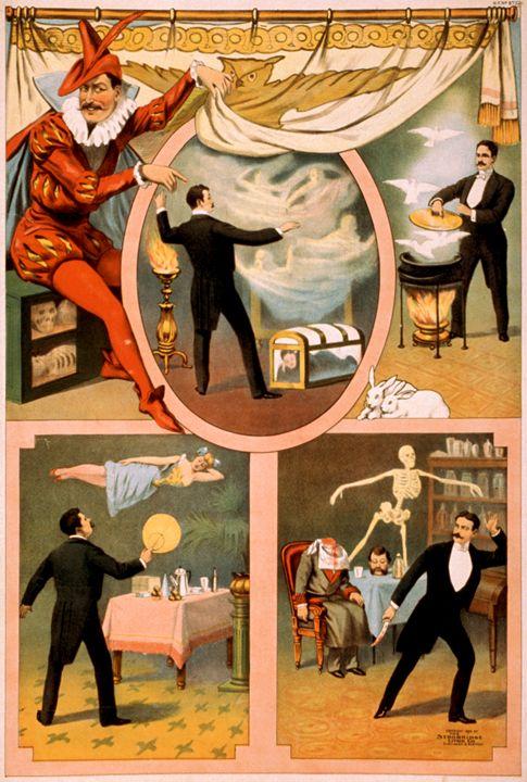 Vintage Magician - LukeAhearn