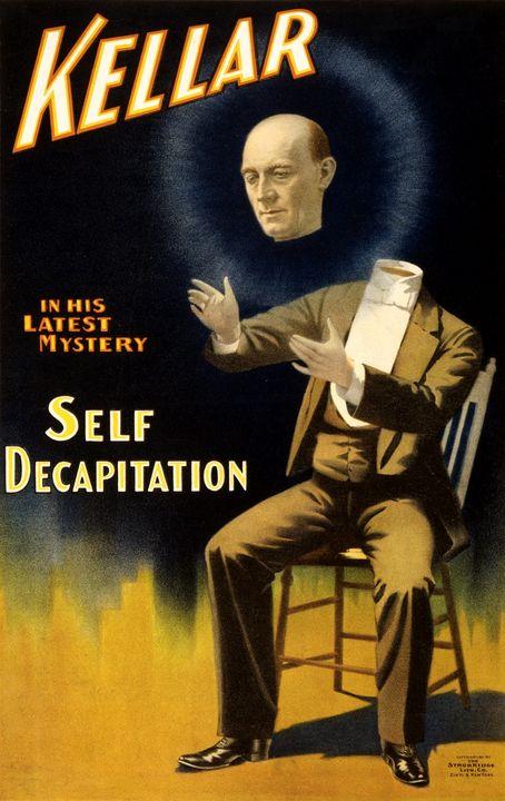 Kellar Self Decapitation - LukeAhearn