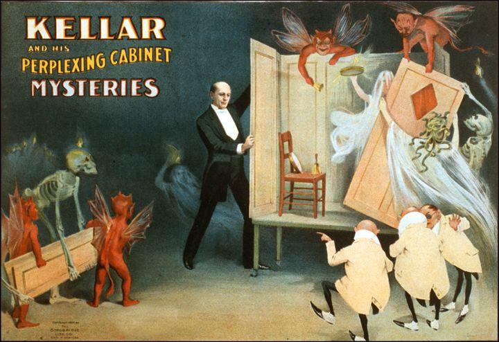 Kellar and his cabinet - LukeAhearn