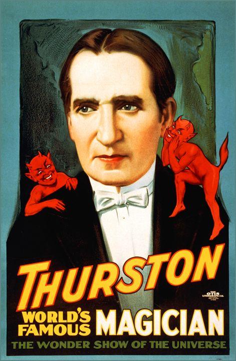 Thurston the Magician - LukeAhearn
