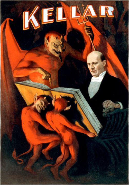 Kellar and the Devil - LukeAhearn