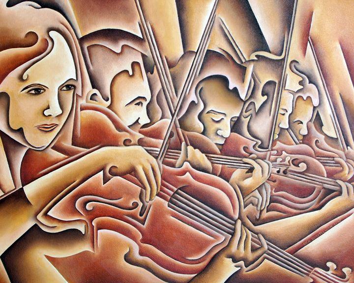 5 Violins - Rick Borstelman