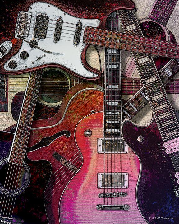 Guitar Collection - Rick Borstelman