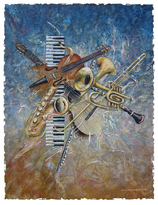 Abstract Melody - Rick Borstelman