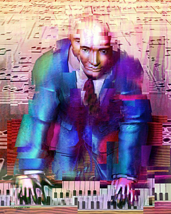 Piano Man - Rick Borstelman