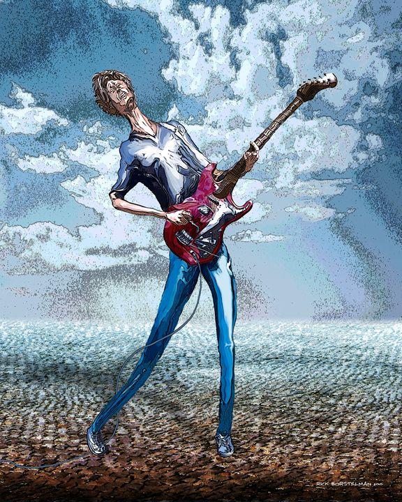 Skinny Guitar - Rick Borstelman