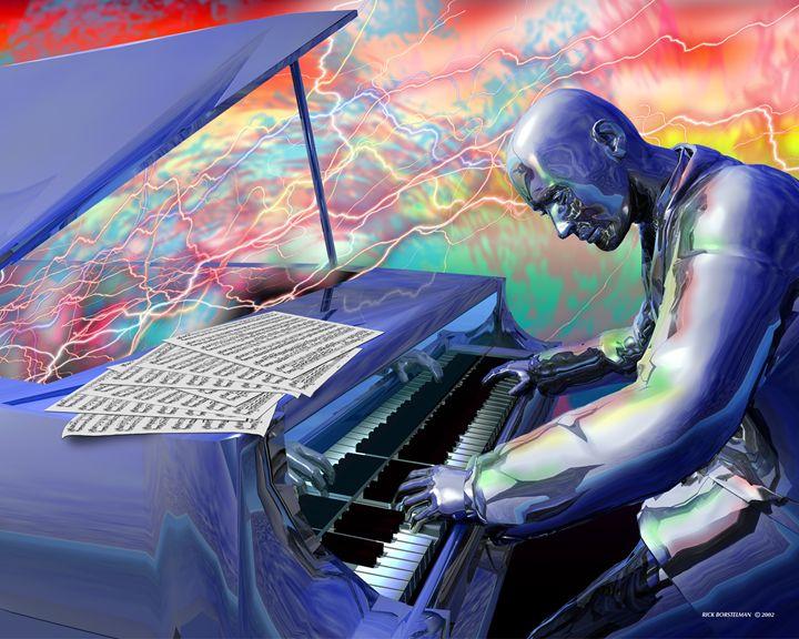 Blue Piano - Rick Borstelman
