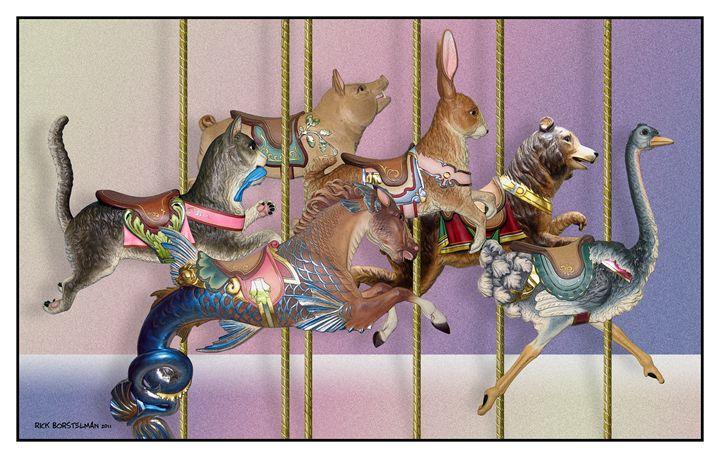 carousel menagerie - Rick Borstelman