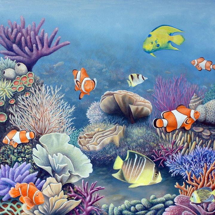 Coral reef - Rick Borstelman