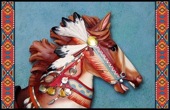 Indian Pony Head - Rick Borstelman