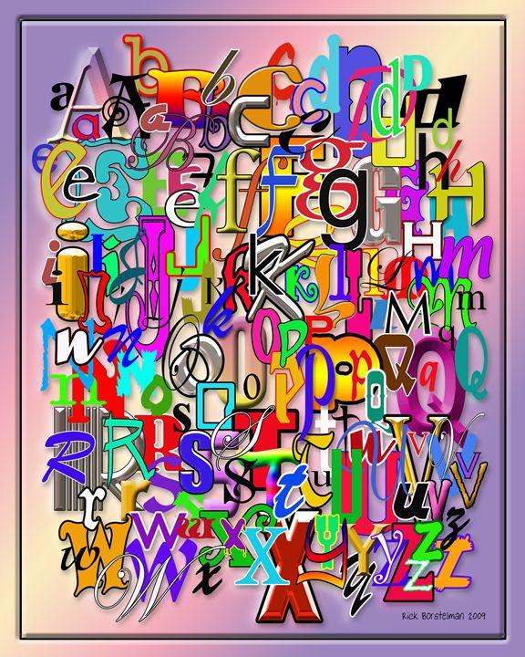 English Alphabet - Rick Borstelman