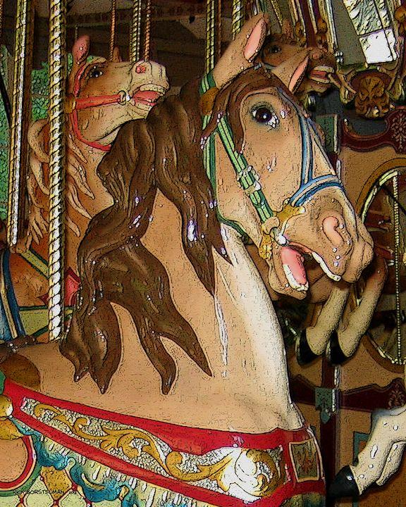 wooden Horse - Rick Borstelman
