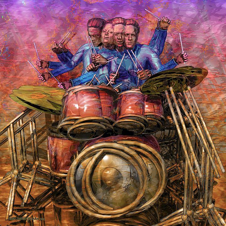 Drum Solo - Rick Borstelman