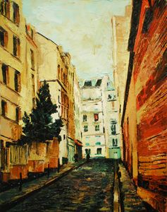 Montmartre with Spruce, Montmartre,