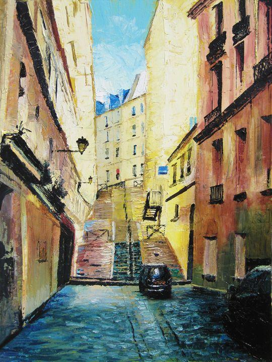 Montmartre, Paris - Daniel Cormier Oils on Canvas