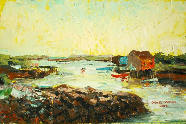 Prospect at Sunset - Daniel Cormier Oils on Canvas