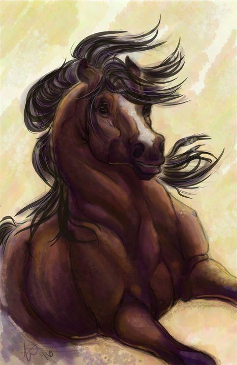 The Bay King - Clover Pony
