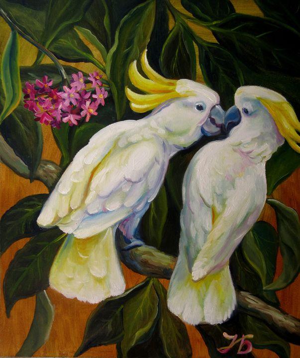 Unexpected Kiss (Parrots) - Nadia Bykova