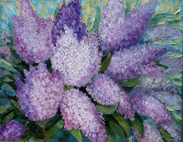 Delicate Lilac - Nadia Bykova