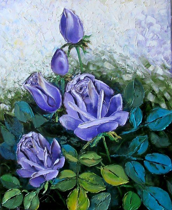 Lavender Roses - Nadia Bykova