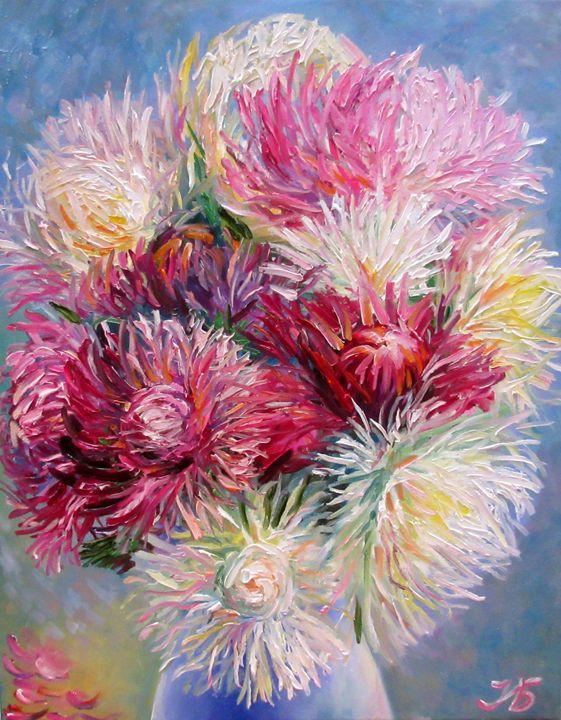 Fall Flowers Bouquet - Nadia Bykova