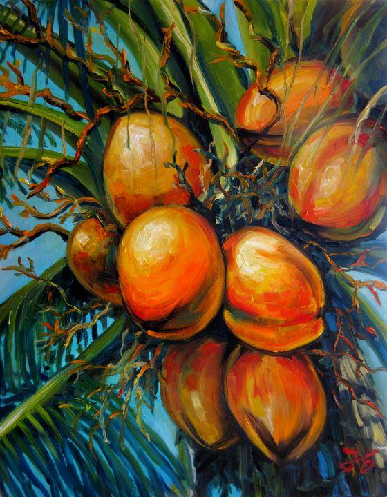 Coconut palm - Nadia Bykova