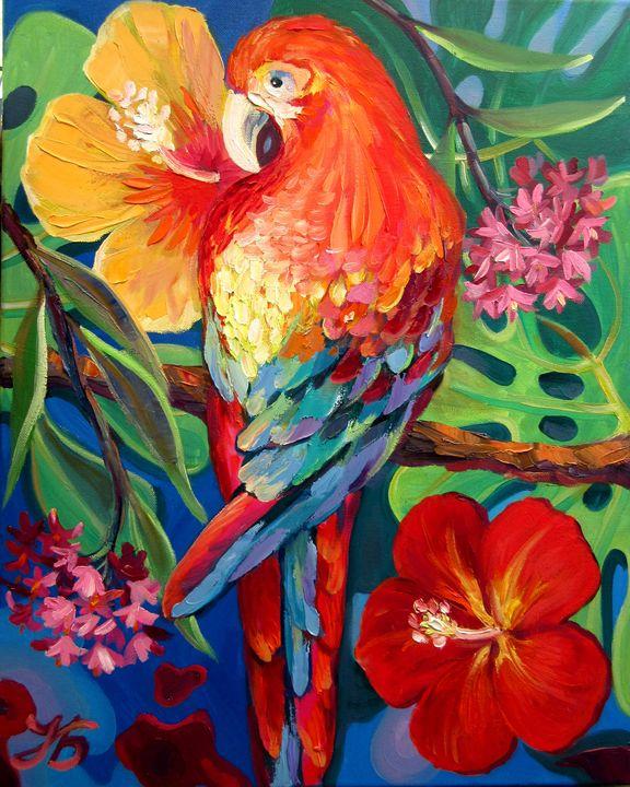 Macaw Parrot - Nadia Bykova